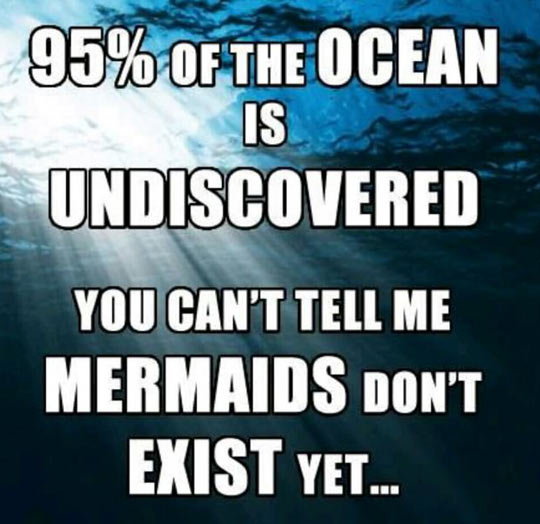 funny-ocean-undiscovered-mermaids-quote