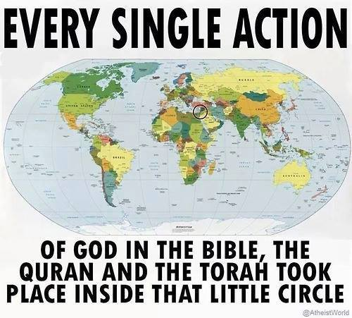 ...Well, except for the global flood. And the creation.